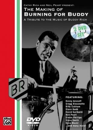 The Making of Burning for Buddy : A Tribute to the Music of Buddy Rich, 2 DVDs