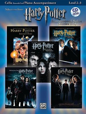 Harry Potter Instrumental Solos (Movies 1-5): Cello (Removable Part)/Piano Accompaniment