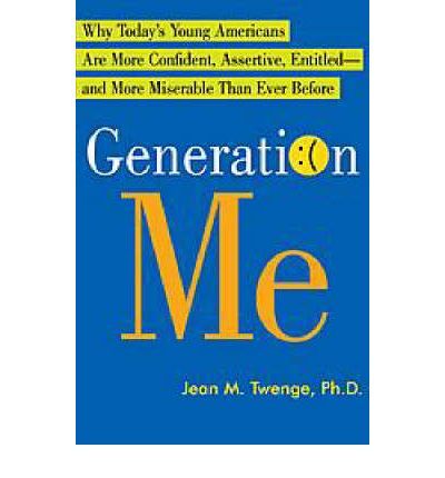generation me twenge essay Twenge's analysis of generation me accurately depicts the way people today are more irritable and inclined to argue when the basis for this mindset is introduced by author jean twenge in her essay, an army of one: me, as she described the gap that occurred between baby boomer parents.