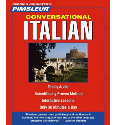 Pimsleur Italian Conversational Course - Level 1 Lessons 1-16 CD: Lessons 1-10 Level 1: Learn to Speak and Understand Italian with Pimsleur Language Programs