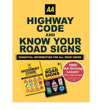 Know Your Road Signs and Highway Code Twinpack : AA ...