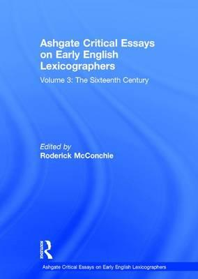 critical essays vol 1