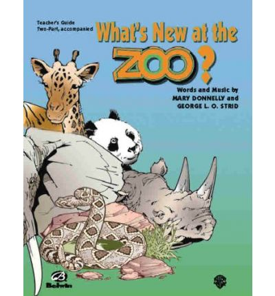 What's New at the Zoo? : 2-Part Teacher's Guide