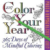 Color Your Year Page A Day Calendar 2017 Download PDF
