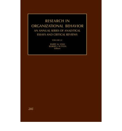 behavior organizational paper research writing