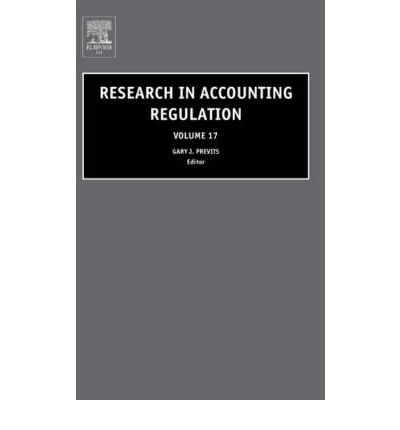 Research in Accounting Regulation: Vol. 17