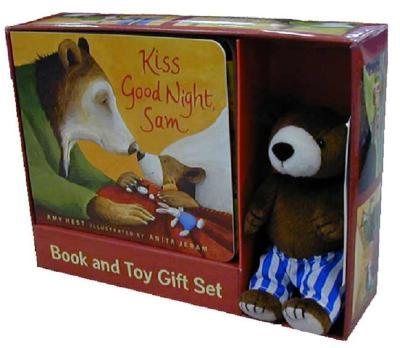 Kiss Good Night : Book and Toy Gift Set
