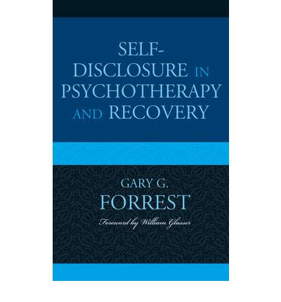 self disclosure in therapeutic relationship definition
