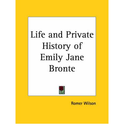 an introduction to the life of emily jane bronte a writer What does the name bronte mean emily jane brontë was a writer she left this life on may 28th, 1849.