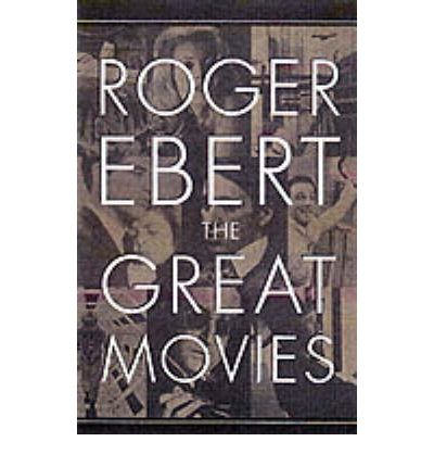 roger ebert great movie essays America's most trusted and best-known film critic roger ebert presents one hundred brilliant essays on some of the best movies ever made for the past five years.