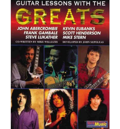 Lessons with the Greats -- Guitar