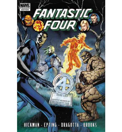 Fantastic Four by Jonathan Hickman Volume 4