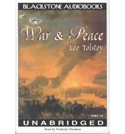 """war and peace leo tolstoy essay Leo tolstoy's """"war and peace"""" is legendarily grand in scope, so it's no big  of  my tolstoy essay explosion hereabouts, i was also reading war and peace."""