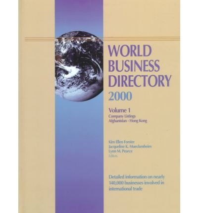 World Business Directory : 4 Volumes