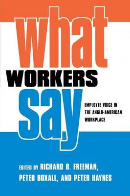 What Workers Say: Version 2