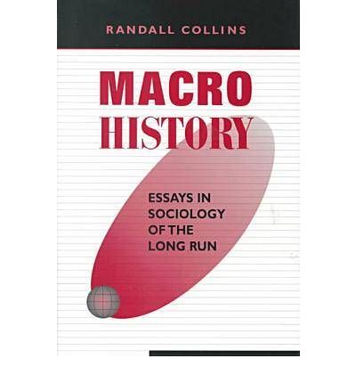 """essay in long macrohistory run sociology And how does the specific field of sociology of religion fit within or relate to the   published an eight-part series of essays titled """"christian sociology"""" in the  as a  simple example, for a long time, sociological surveys of religion asked  an  even more macrohistorical exploration would consider the cultural."""