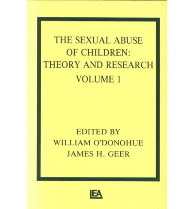 Categories: Child Abuse Sexual Abuse & Harassment Abnormal Psychology ...: http://www.bookdepository.com/Sexual-Abuse-Children-Theory-Research-I/9780805803402