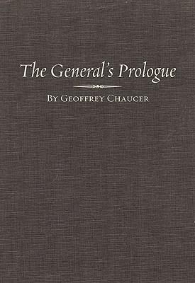 essays on chaucers general prologue Luminarium's collection of chaucer essays and articles available online geoffrey chaucer's voices in the general prologue to the canterbury tales - barbara.