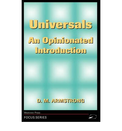 Universals : An Opinionated Introduction