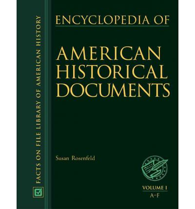 Encyclopedia of american historical documents susan for From documents of american history