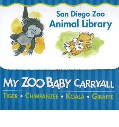 My Zoo Baby Carryall: Tiger, Chimpanzee, Koala, Giraffe  Board book   Jul 20,...