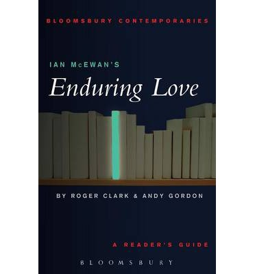 the book description of ian mcewans enduring love In enduring love, ian mcewan has given us some of the  description customers who bought  the well-worn phrase i love you to death mcewan has written a book.