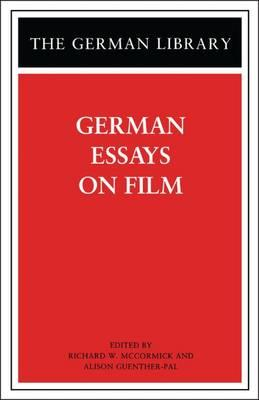 german essays film Video essay: german expressionism, explained this is german expressionism created for no film school by how to structure a video essay.