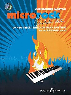 Microrock : 20 New Pieces Based on Rock Rhythms for the Beginner Pianist