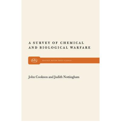 an analysis of chemical and biological warfare Dtic ada424779: a chemical and biological warfare threat: usaf water systems at risk  biological warfare agents, chemical warfare agents, risk analysis.