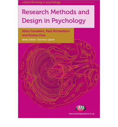 research design for psychology Types of research design over the years, the field of psychology has attempted to answer complicated questions about human nature, such as: what treatments are effective for mental illness.