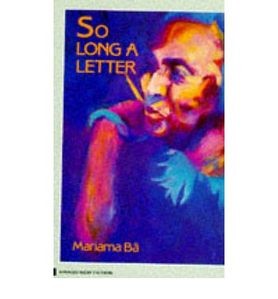 so long a letter so a letter mariama ba 9780860682967 12908 | 9780860682967