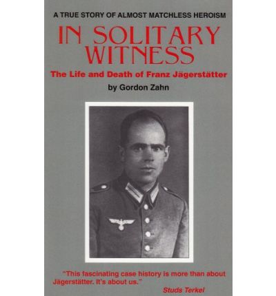 an essay on solitary witness In solitary witness has 3 ratings and 2 reviews robert said: every age produces its heroes not all of them are flashy and brash and imposing the great.