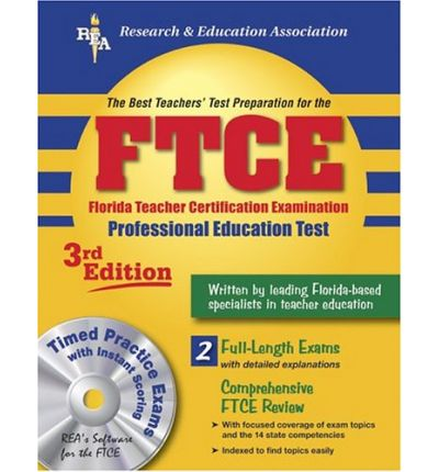 Ftce Professional Education W/ CD-ROM (Rea) the Best Test Prep