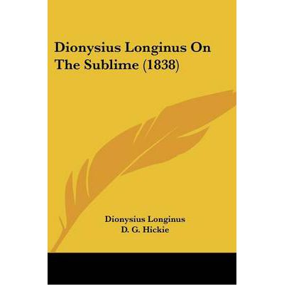 on the sublime by longinus Comment of longinus' theory of the sublime comment of longinus' theory of the sublime comment of longinus' theory of the sublime.