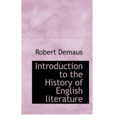 An introduction to the history of arts and literature