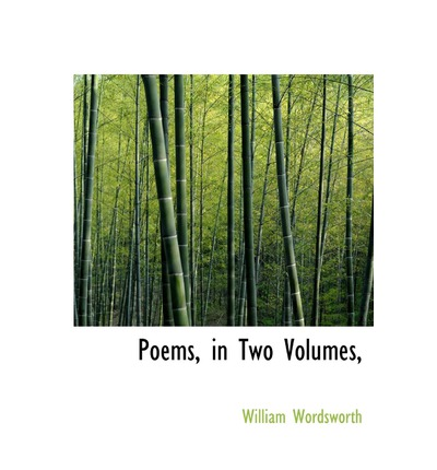 Poems, in Two Volumes,