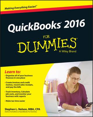 Free Quickbooks 2016 For Dummies Download Pdf Epub Mon Premier Blog
