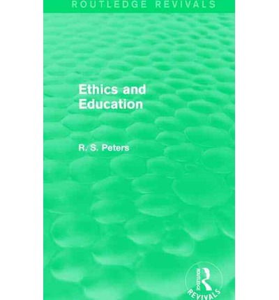 r s peters Rs peters and the concept of education kelvin stewart beckett school of graduate education kaplan university abstract in.