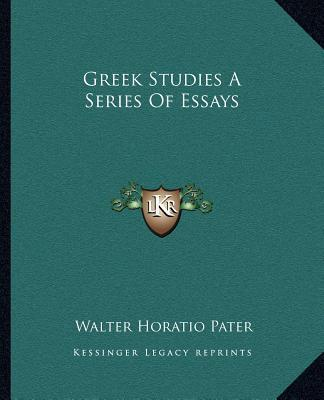 walter horatio pater essays Walter horatio pater essays no plagiarism — exclusive writing in approximately 108 subjects.