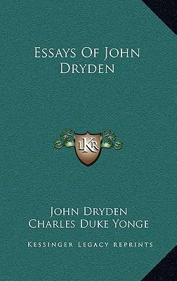 an essay on satire john dryden