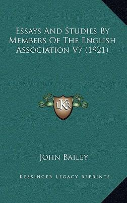 Essays and studies english association