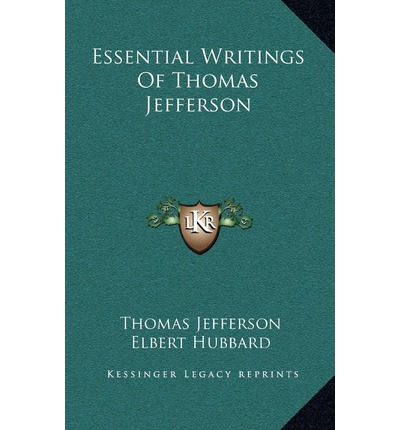 thomas jefferson writings This assignment, and what he made of it, ensured jefferson's place as an apostle  of liberty in the declaration, and in his other writings, jefferson was perhaps.