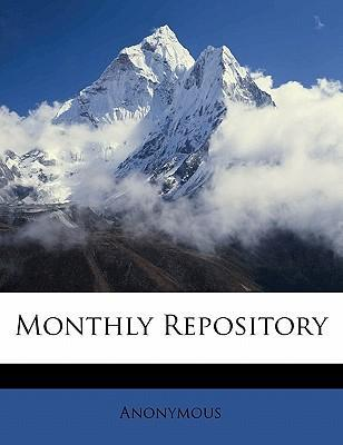 Monthly Repository Volume 3, New Series