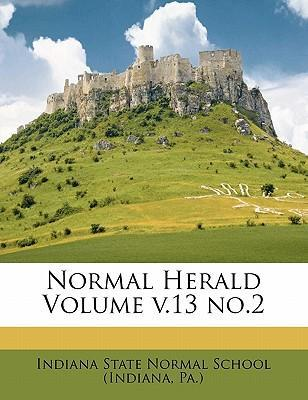 Normal Herald Volume V.13 No.2