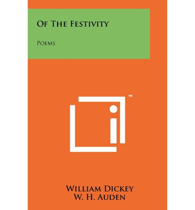 Of the Festivity : Poems