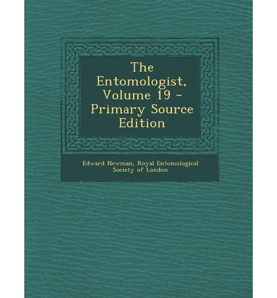 Entomologist, Volume 19
