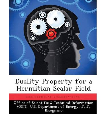 Duality Property for a Hermitian Scalar Field