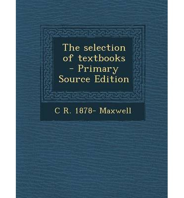 Selection of Textbooks