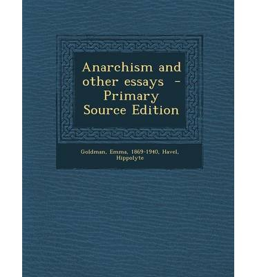 anarchism and other essays published car