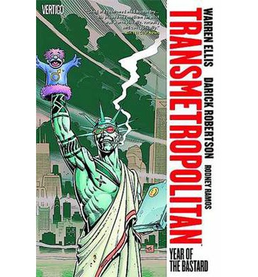 Transmetropolitan: Year of the Bastard Volume 3